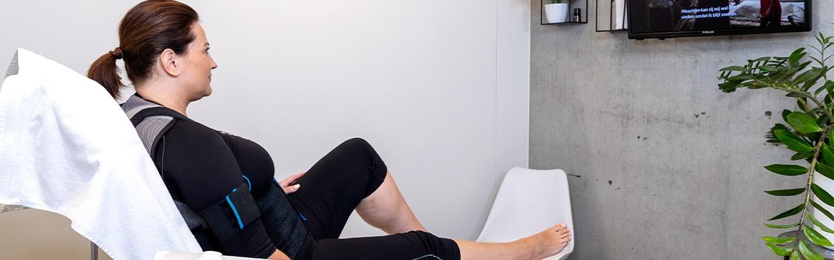E-Relieve verlicht of verhelpt rug- en nekpijn of pijnlijke gewrichten